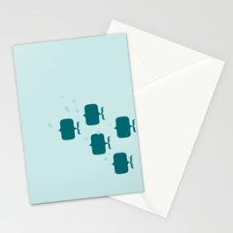 School of fish Stationery Cards