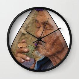 Ayahuasca (Magic Spells x Air Nyquil) Wall Clock