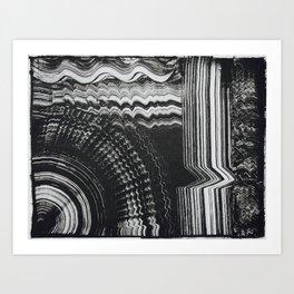 Abstract Pattern Printwork Art Print