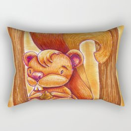 La creadora de los bosques.  Rectangular Pillow