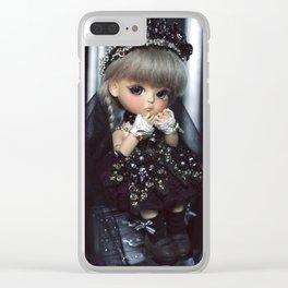 Dark Princess Clear iPhone Case