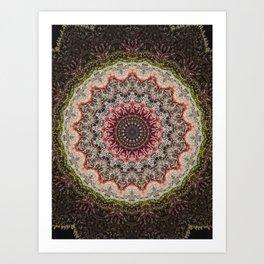 Trichome Crystal Portal Art Print