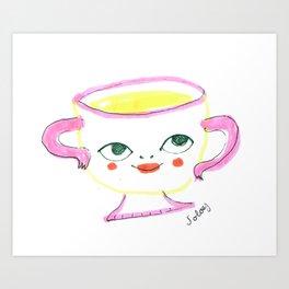 Teacup Cutie Art Print