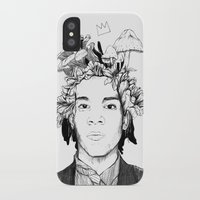 basquiat iPhone & iPod Cases featuring Basquiat by offthefaceoftheearth