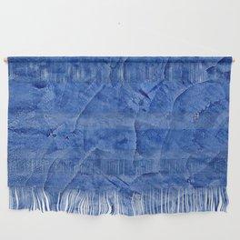 Beautiful Vibrant Light Blue Plaster #society6 #bluedecor #blue Wall Hanging