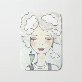 Pensieri e nuvole Bath Mat