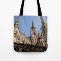 milan Tote Bags featuring Milan by Alan Wong