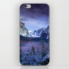 Yosemite National Park Colorful Photography iPhone Skin