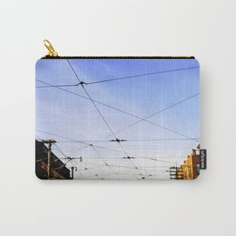 Queen Street Grid Carry-All Pouch