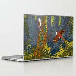 Can't See the Wood for the Treecreepers Laptop & iPad Skin