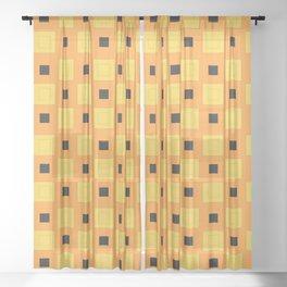 JoJo - Narancia Ghirga Pattern Sheer Curtain