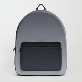 Grey Ombre . Gradient . Backpack