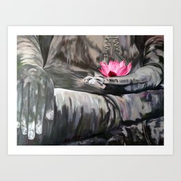 I love the smell of my palm in the morning-Apocalypse now. Homage to F.Ford Coppola Art Print