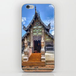 Chiang Mai Thailand Buddhist Temple iPhone Skin