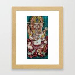 Om Ganeshaya Namah Framed Art Print