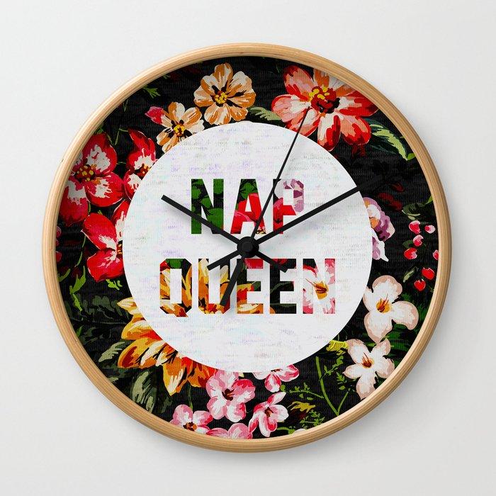 Nap Queen Wall Clock
