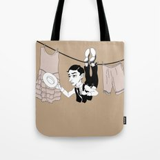 Buster Keaton Hello Neighbor! Tote Bag