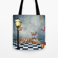 relax Tote Bags featuring Relax by haroulita