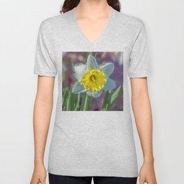 Narcissus Unisex V-Neck