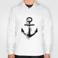 anchor Hoodies featuring Anchor by Urlaub Photography