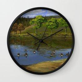 Goose Pond Wall Clock
