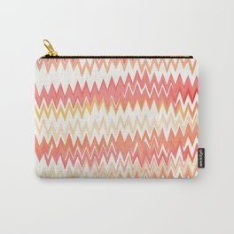 Messed Up Chevrons Carry-All Pouch
