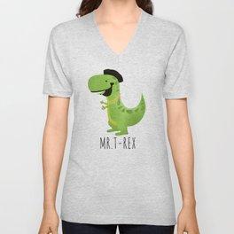 Mr. T-Rex Unisex V-Neck