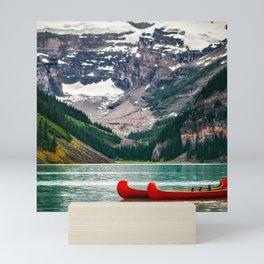 Canada Photography - Red Kayaks Mini Art Print