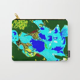 Blue Anglerfish Carry-All Pouch