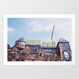 creep show Art Print