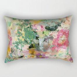 Bright Blossoms Rectangular Pillow