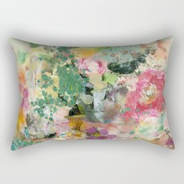 Bright Blossoms Rectangular Pillow