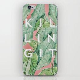 Killing it iPhone Skin