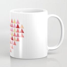 Triangles of Love Coffee Mug