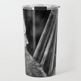 """""""What we do in this life, Echoes in eternity"""" Travel Mug"""
