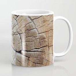 Tree rings of time Coffee Mug