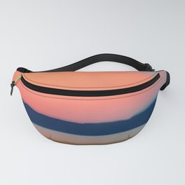 Seagull Sunset Abstract Fanny Pack