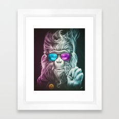 Smoky Framed Art Print