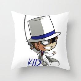 Kaito Kid Chibi Throw Pillow