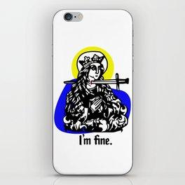 Martyrface iPhone Skin