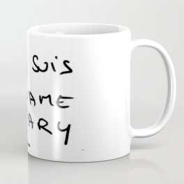 Je suis Madame Bovary Coffee Mug