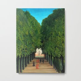 Henri Rousseau - The Avenue in the Park at Saint Cloud Metal Print