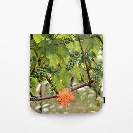 the orange leaf Tote Bag