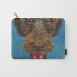 Godiva, the Labradoodle Carry-All Pouch