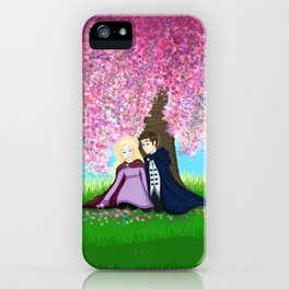Sophie and Fitz iPhone Case
