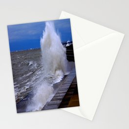 When Sandy Made Waves in Chicago #7 (Chicago Waves Collection) Stationery Cards