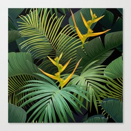 Dark Jungle Canvas Print