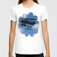 airplane T-shirts featuring airplane by Karl-Heinz Lüpke