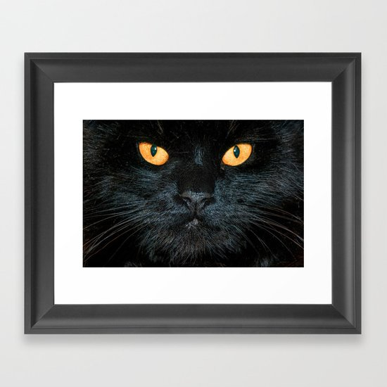 BLACK MAGIC Framed Art Print