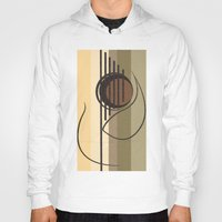 guitar Hoodies featuring Guitar by Justis Rivera